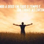 Adorando a Deus no SIM, NÃO e ESPERE!