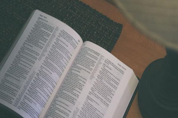 imagem de uma biblia comum